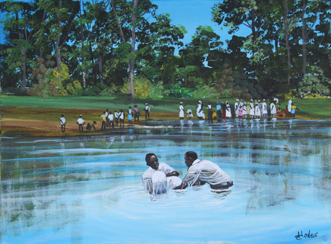 Gullah Baptism by John W. Jones Gullah Art, African American Art by ...
